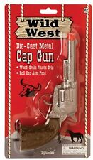 Wild West die-cast metal Pistol Western Cowboy Toy CAP GUN new-uses roll caps