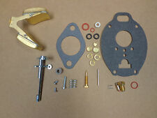John Deere M MT MI MC 40 320 330 carburetor carb kit with throttle shaft & float