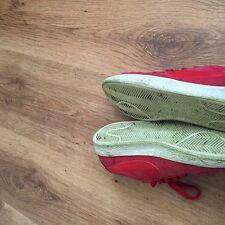 Da Donna/Ragazze Rosso Taglia 4/37 Nike Blazer Basso Scarpe Da Ginnastica 100% Autentico buona CONDITIO