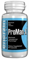 ProMan X Penis Enlargement 90 Pills Male Enhancement Testosterone Sex Increase