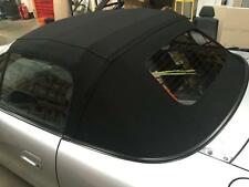 Mazda MX5 Mk2 Black Mohair Hood & Glass Screen,