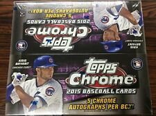 MLB 2015 Topps Chrome JUMBO Factory Sealed 1boxes 5-Auto Cards Kris Bryant RC