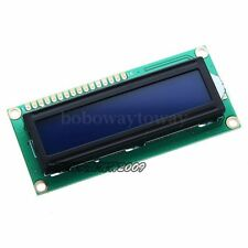 Display BLU 16x2 162 LCD retroilluminato HD44780 arduino Modulo Display