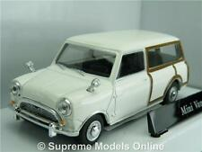 AUSTIN MINI TRAVELLER MODEL CAR VAN 1:43 SCALE WHITE COLOUR EXAMPLE T3412Z(=)