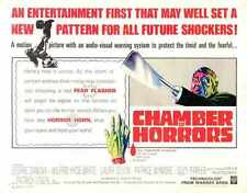 Chamber Of Horrors 1966 Poster 02 A3 Box Canvas Print