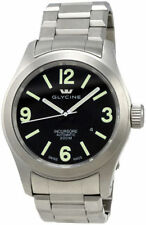 Mens Glycine Incursore Swiss Automatic Stainless Steel Watch 3874.19-MB