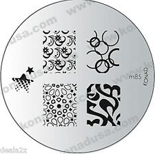 M85 IMAGE PLATE - Konad Stamping Nail Art Design Nail NEW USA SELLER