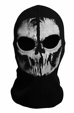 Call of Duty 10 balaclava face skull mask ghost bike skateboard Hood Cosplay #2