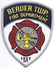 **BEAUER TOWNSHIP NORTH LIMA OHIO FIRE DEPARTMENT FIRE RESCUE PATCH**