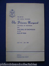 Souvenir Brochure - Visit of Princess Margaret to the Isle of Man  - July 1965