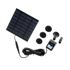 Solar Water Pump Power Panel Kit Fountain Pool Garden Pond Watering US Ship