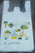 T-Shirt Plastic Bags Fish Special For  Pets Supermarkets,Animals Stores,