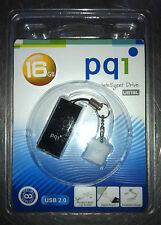 PQI U819L 16GB USB 2.0 Black USB Flash Pen Drive, P/N: 6819-016GR2002 - NEW(!)