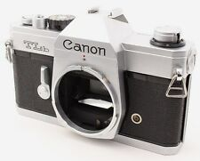 Canon TLb 35mm SLR Film Camera Body Only Silver From Japan