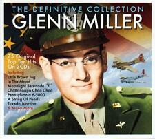 GLENN MILLER - THE DEFINITIVE COLLECTION - 75 TOP HITS (NEW SEALED 3CD)