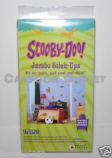 SCOOBY DOO WALL STICKERS JUMBO WALL DECORATIONS 20+ REUSABLE