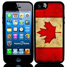 Canada Canadian Flag Grunge For Iphone 6 Case Cover