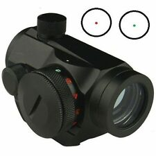 Red Green Micro Dot Sight 5 Brightness Levels