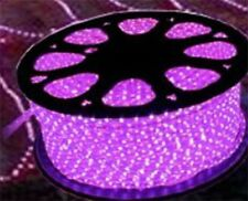 "150' Feet LED Rope Lights Pink Color 1/2"" /13MM 1656 LEDs With Accessories"