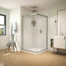 "FLEURCO APOLLO 32""x32""x75"" SLIDING SQUARE SHOWER ENCLOSURE"