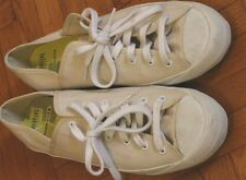 Kate Spade Saturday PF-Flyers NEW off-white canvas sneakers: 9, W-10