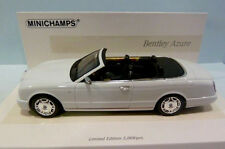 wonderful modelcar BENTLEY AZURE CONVERTIBLE 2007- white - scale 1/43