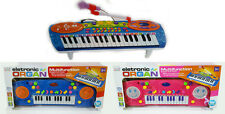 Rockstar Type Electronic Piano Keyboard With Tune Set & Microphone Kids Toy Gift