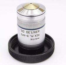 Leica HCX PL S-APO 63x 1.30 Oil ∞ Infinity Microscope Objective PlanApo APO