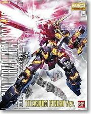 MG Master Grade RX-0 Unicorn Gundam Unit 02 Banshee Titanium 1/100 model kit
