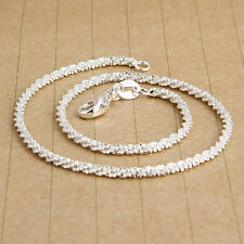 New Come Summer Hot Explosion Fashion Small Silver Hemp Sterling Silver Anklet