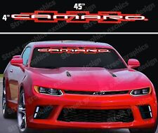 CAMARO WINDSHIELD VINYL DECAL STICKER 2 COLORS