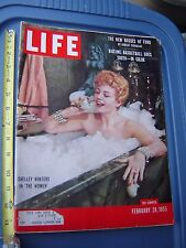 LIFE MAGAZINE FEBRUARY 28 1955 SHELLEY WINTERS ANDREW WYETH PAUL NEWMAN CORNELL