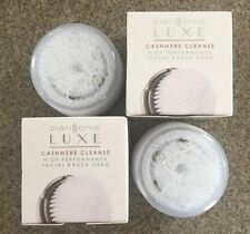 2 LUXE CASHMERE Brush Heads For CLARISONIC MIA & MIA2 PRO PLUS Replacement Head