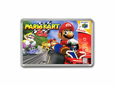 MARIO KART 64 Nintendo 64 N64 Game Cover Art Fridge Magnet