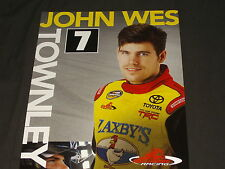 2013 JOHN WES TOWNLEY #7 ZAXBY'S NASCAR CAMPING WORLD TRUCK SERIES POSTCARD