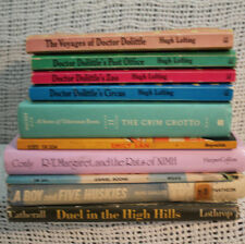 LOT OLD CHILDRENS A BOY AND FIVE HUSKIES VOYAGES OF DOCTOR DOLITTLE RATS OF NIMH