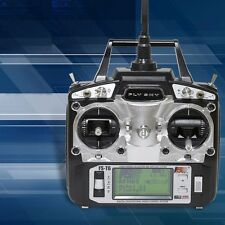 Flysky FS-T6 6CH 2.4GHz Transmitter Receiver For RC Helicopter Multicopter Plane