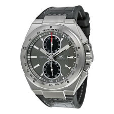 IWC Ingenieur Chronograph Racer Ardoise Dial Rubber Straps Mens Watch IW378507