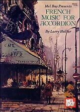 French Music for Accordion Vol. 1 by Larry Hallar (1996,  - ACCORDION MUSIC BOOK