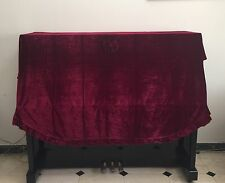 Hot Selling New Pleuche Piano Cover Dust-Proof Upright Piano Cover Full Size