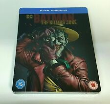 BATMAN THE KILLING JOKE Blu-ray STEELBOOK [U.K.] ZAVVI NEW / REGION FREE OOS/OOP