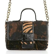 "Clever Carriage Zebra-Print and Lace Estate ""Cupcake"" Bag $299"