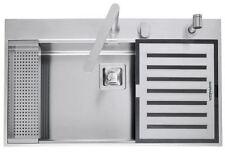 BARAZZA B_FREE lavello + rubinetto + kit accessori 1LBF91K