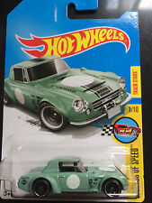 1:64 2017 Hot Wheels | Fairlady 2000 (Pale Green) Deep Dish 8-Spoke