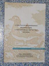 Catalogue vente Livres illustrés modernes régionalisme voyages … ERA enchères