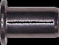 50 x M6 ALU Nietmutter Flachkopf klemmt 0,3-3,0mm
