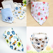 Baby Boy Girl Kids Bibs Waterproof Saliva Towel Bib Feeding Bandana Bebés Babero
