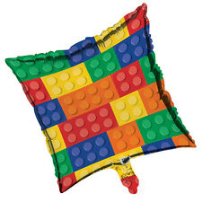 "Legos BLOCK PARTY 18"" Mylar BALLOON Birthday Party Supplies Decoration"