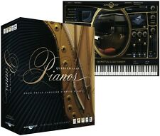 NEW East West Quantum Leap Pianos Gold Sample Instrument Pro Tools Plug In