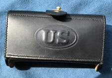 Army M1874 McKeever Leather Ammo Pouch Type 1 for .45-70 Springfield Indian Wars